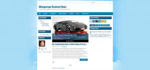Albuquerque Business News Home page