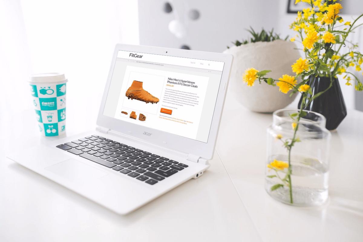 FitGear Shop Item Page