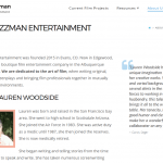 Jazzman Entertainment About page