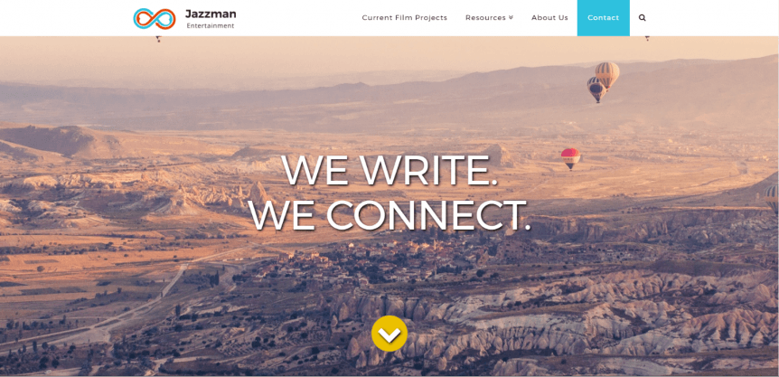 Jazzman Entertainment Home page
