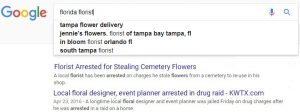 Florida Florist Search Results