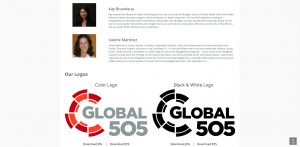 global 505 Press Kit Screen Capture